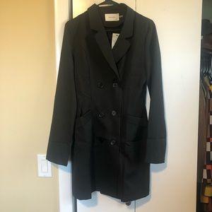 Mini pocketed blazer dress
